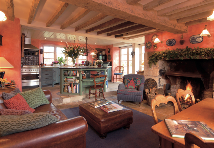 17th century cotswold stone cottage cotswold property and - Stone Cottage Interiors