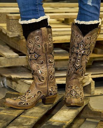213fd4aff00d9 Corral Scarlett Cowboy Boot - Boots for Women | Buckle | Women's ...