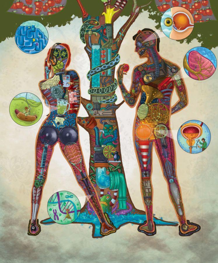 Adán Y Eva Adan Y Eva Artistas Estilos De Pintura
