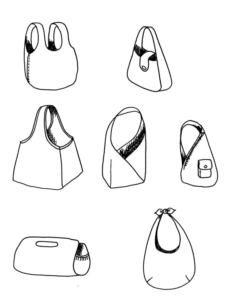 ikat bag: Make A Bag Chapter 3C: Integrated Straps
