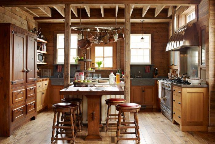 1001 designs et conseils pour la cuisine rustique parfaite relooker cuisine cuisines. Black Bedroom Furniture Sets. Home Design Ideas
