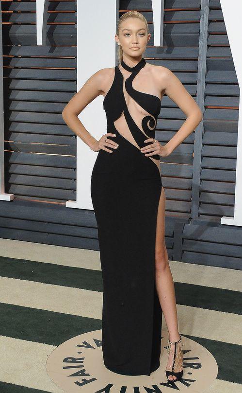 Red Carpet: nos looks préférés de Gigi Hadid | Atelier versace ...