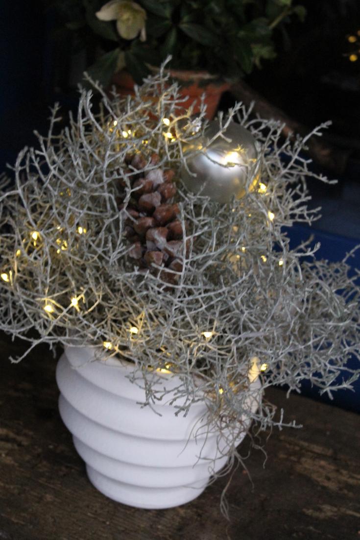 Winterdeko Idee Zum Selber Machen Diy Anleitung Mit Led Kerzen Fur