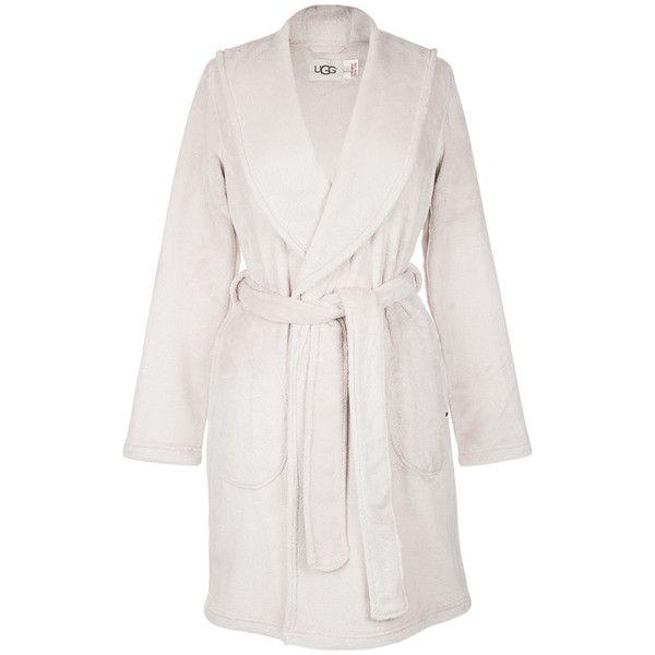 UGG® Women s Miranda Hooded Bathrobe - Moonbeam ( 115) ❤ liked on Polyvore  featuring intimates eefa76355