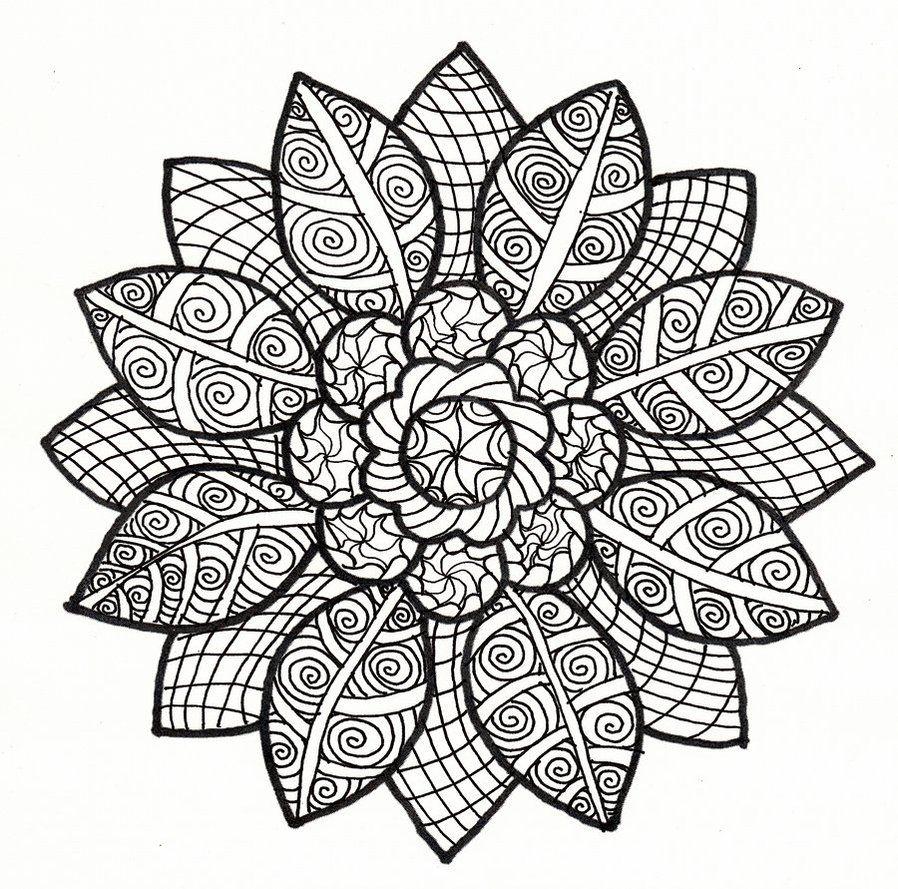 Pin Van Jason Zeigler Op Mandalas Mandala Kleurplaten Kleurplaten Kleurboek