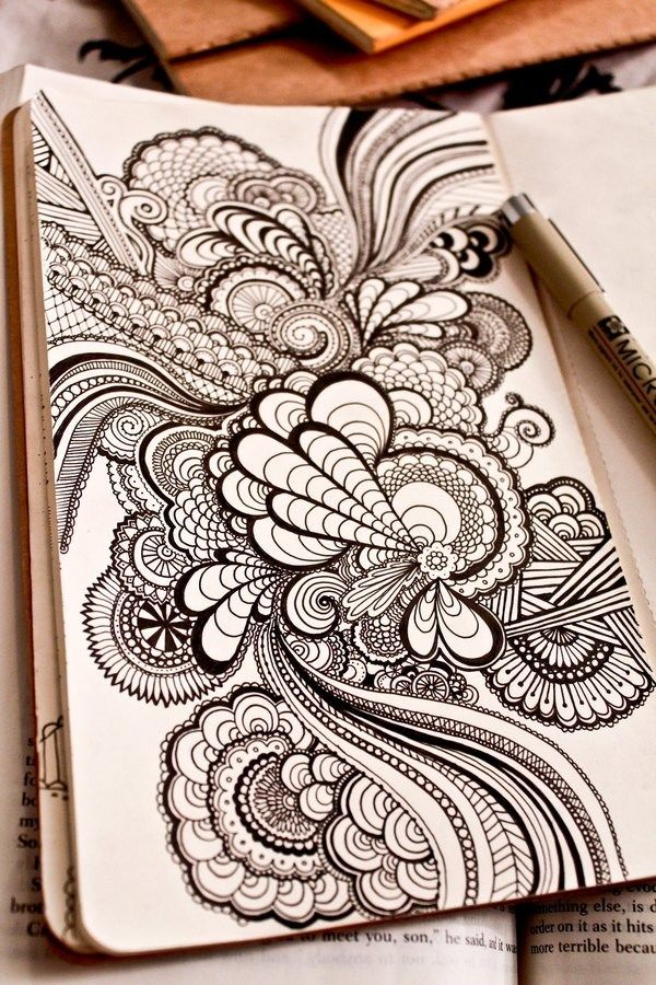 40 Stunning Doodles For Inspiration Sketch Book Drawings Art