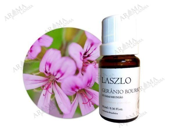 Oleo Essencial Gerânio Bourbon - 10,1ml - Laszlo - e-cosmétique- desconto codigo acordabonita