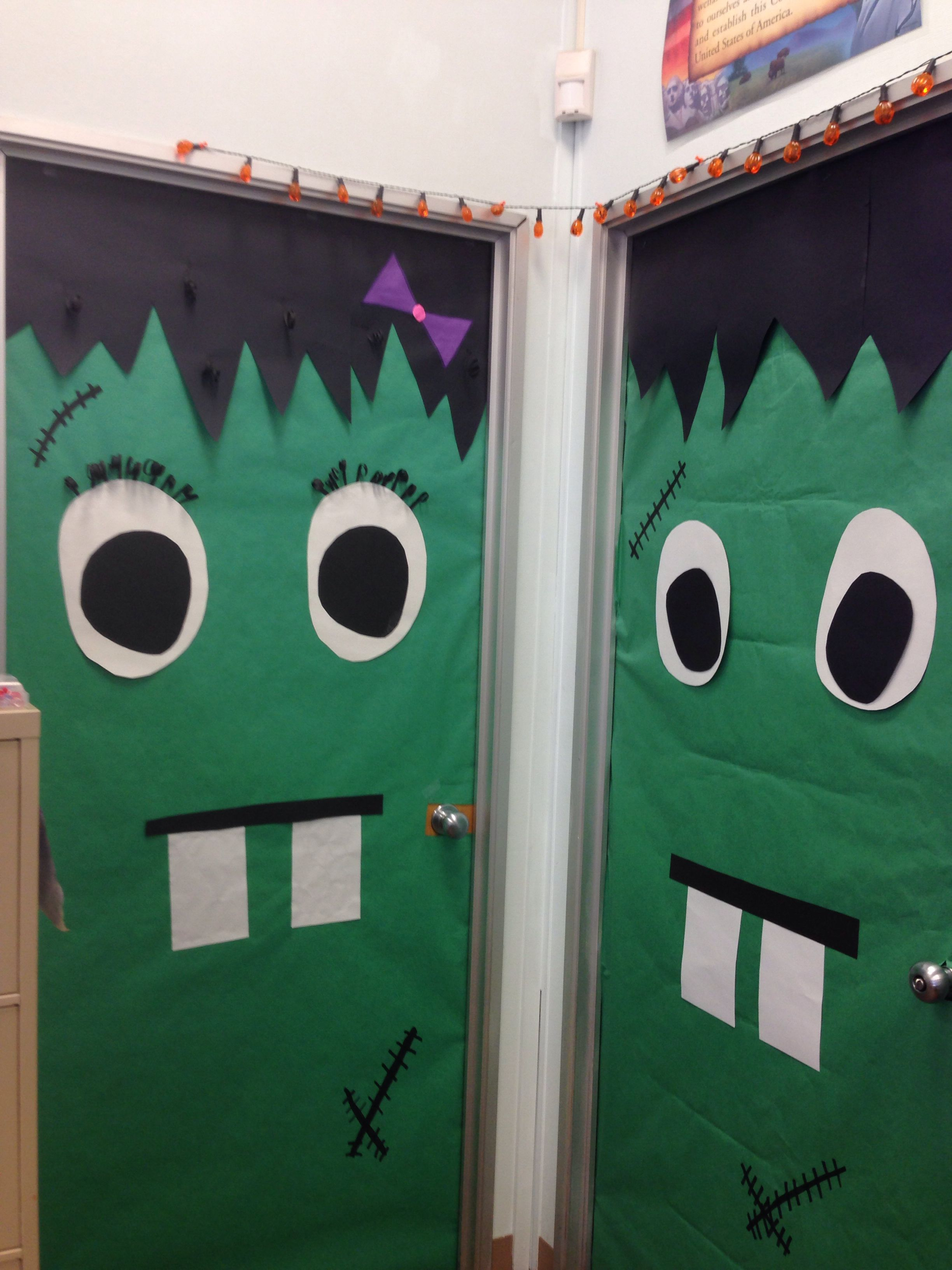Halloween Door Decorations!!! School Pinterest Halloween door - Halloween Door Decorations