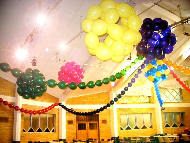 Balloons shaped into disco balls! | party . like it\'s 1999 ...