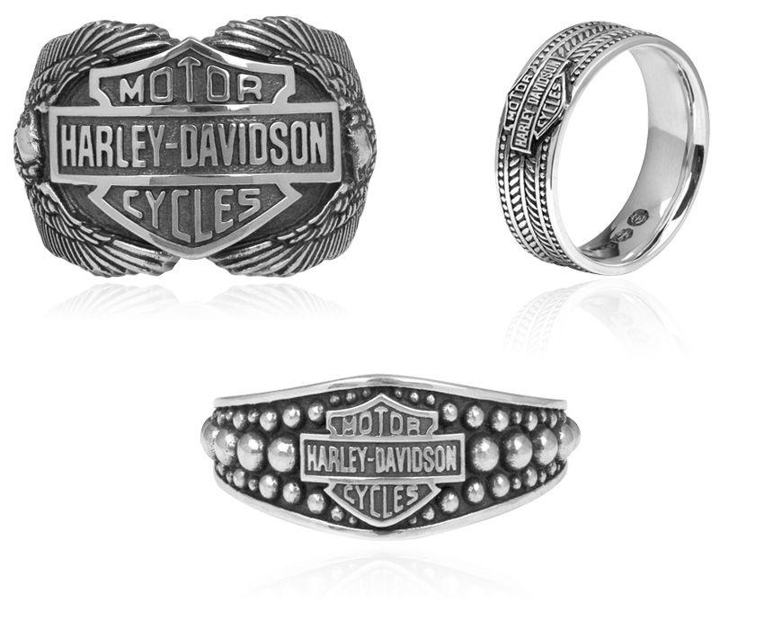 HarleyDavidson Rings by MOD Jewelry General Valentine