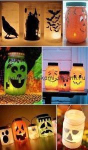 хэллоуин декорации своими руками как украсить дом