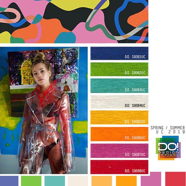 #DesignOptions SS19 Women's color forecast on # ...