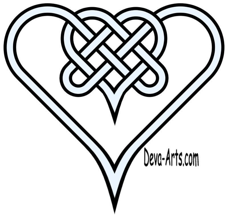 Celtic knotwork heart | Metal embossing | Pinterest | Celta, Arte ...