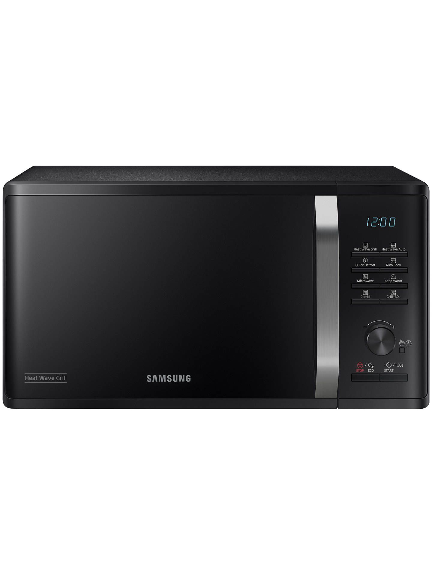Buysamsung Mg23k3575ak Eu Freestanding Microwave Oven With Grill Black Online At Johnlewis Com Microwave Oven Microwave Built In Grill