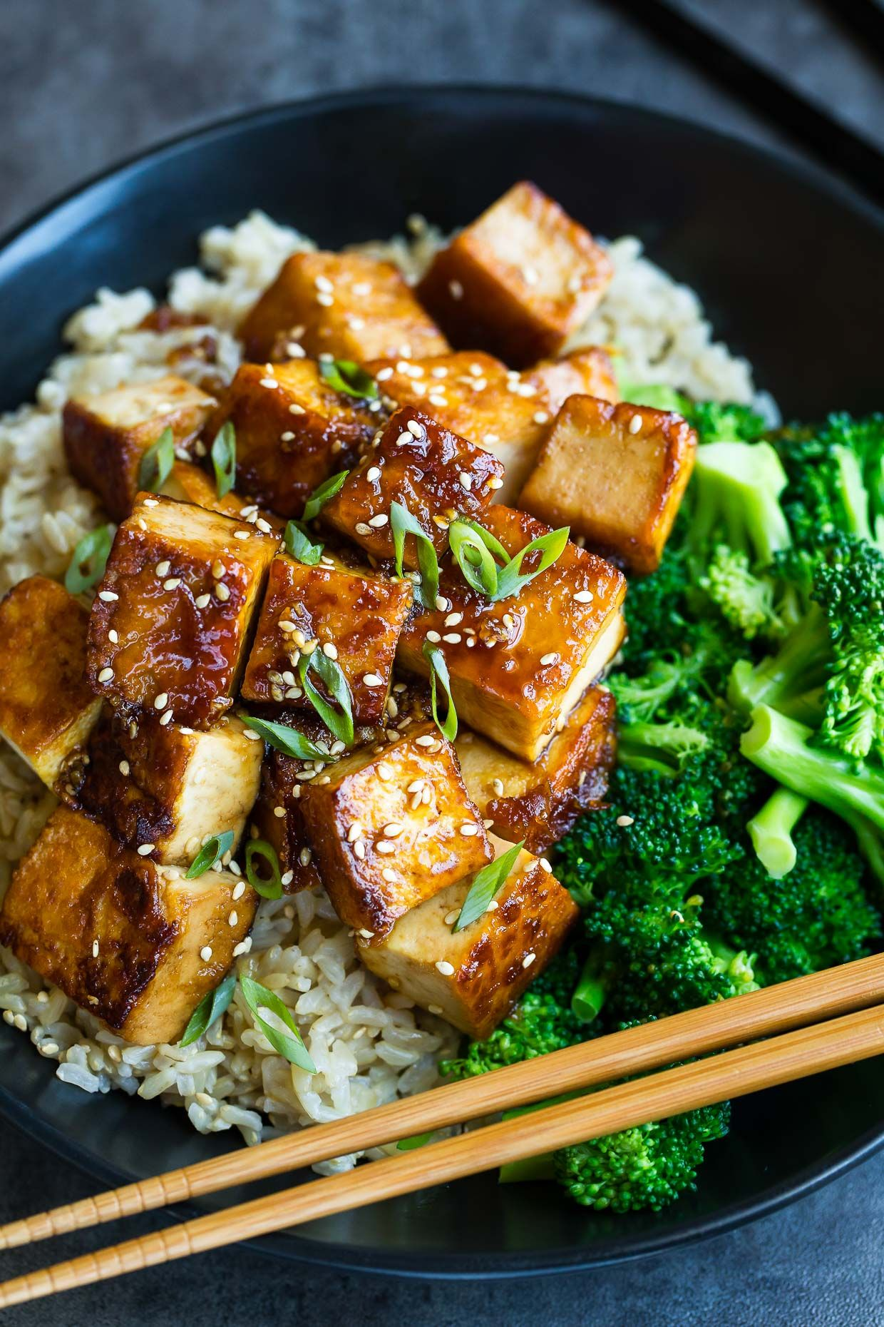 Honey Garlic Tofu Recipe - Peas and Crayons