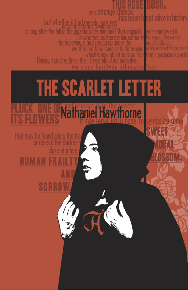 Hawthorne, The Scarlet Letter (Book Cover Designs by