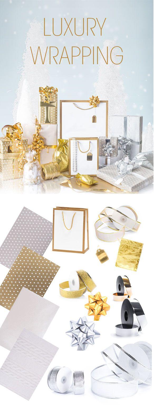 Shopper Carta Gold Frame Bianco Carta, Cartoncini e Oro