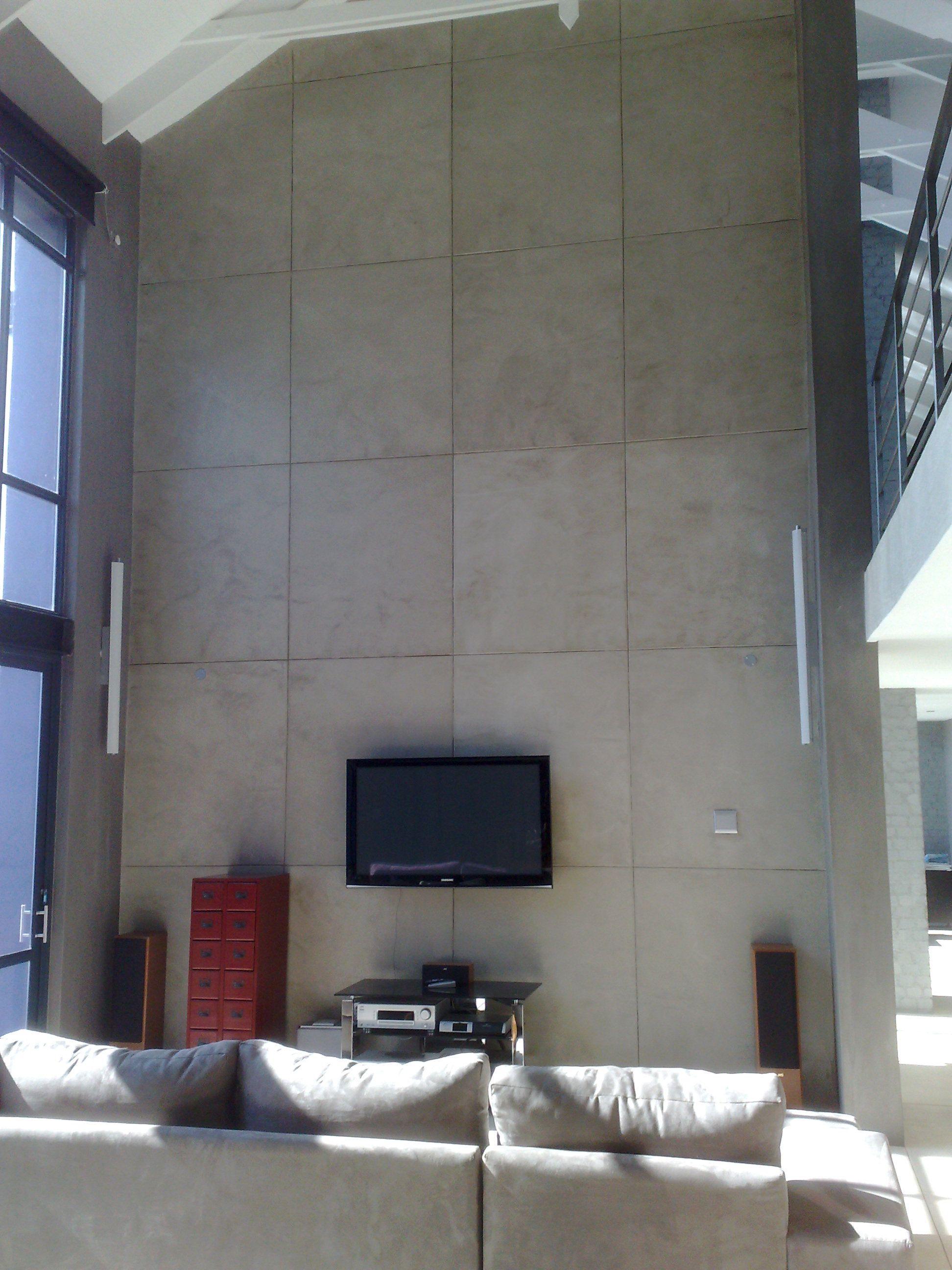 Cemcrete Interior Wall Finish