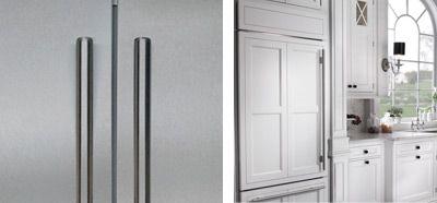 French Door Refrigerator   Sub Zero U0026 Wolf Appliances   CABINET PANELS