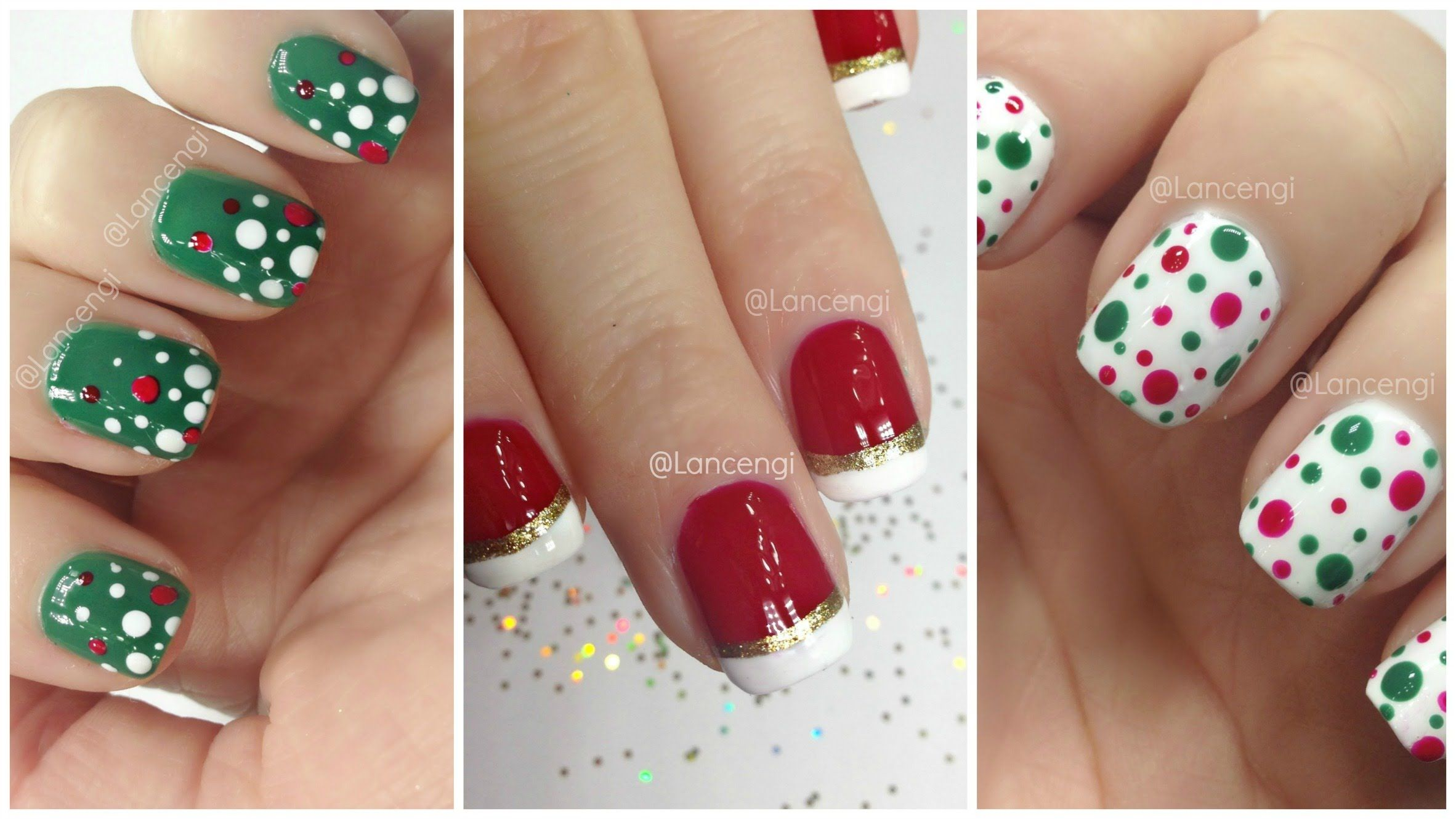 3 Easy And Simple Christmas Nail Art That I Can Actually Do Trendy Holiday Designs Christmas Nails Diy Christmas Nails Easy Christmas Nail Art Easy