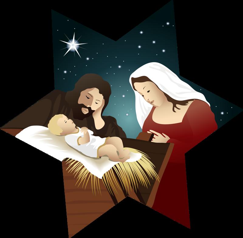 CHRISTMAS NATIVITY STAR CLIP ART Christmas prints