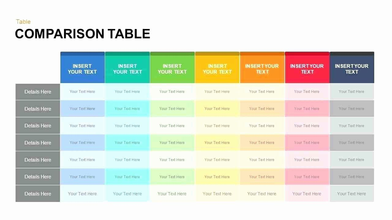 Comparison Sheet Template from i.pinimg.com
