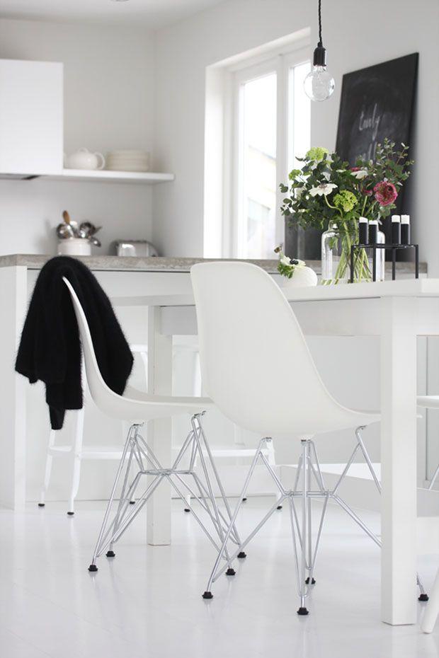 Bright white | Idee per interni, Interni bianchi ...
