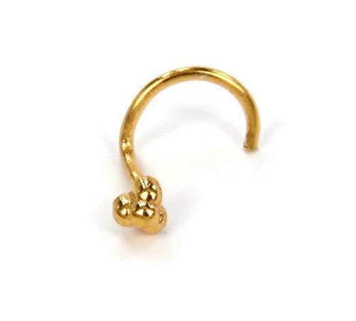 Amazon Com Gold Nose Stud Tiny Nose Stud Small Nose Stud Tribal Nose Stud Indian Nose Stud Nose Jewelry Nose Stud Nose Piercing Jewelry Nose Jewelry