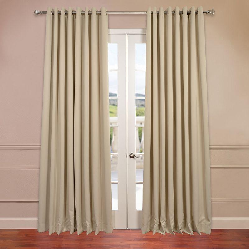Eff Blackout 1 Panel Grommet Doublewide Window Curtain Curtains 96 Inch Curtains 108 Inch Curtains