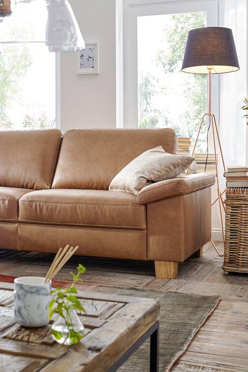 Sitzkomfort auf höchstem Niveau Das Sofa Natura Kansas ist so - wohnzimmer couch gemutlich
