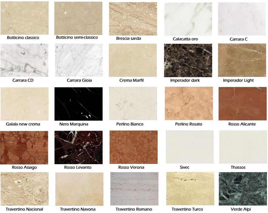 Travertine Tile Colors And Names Google Search Id