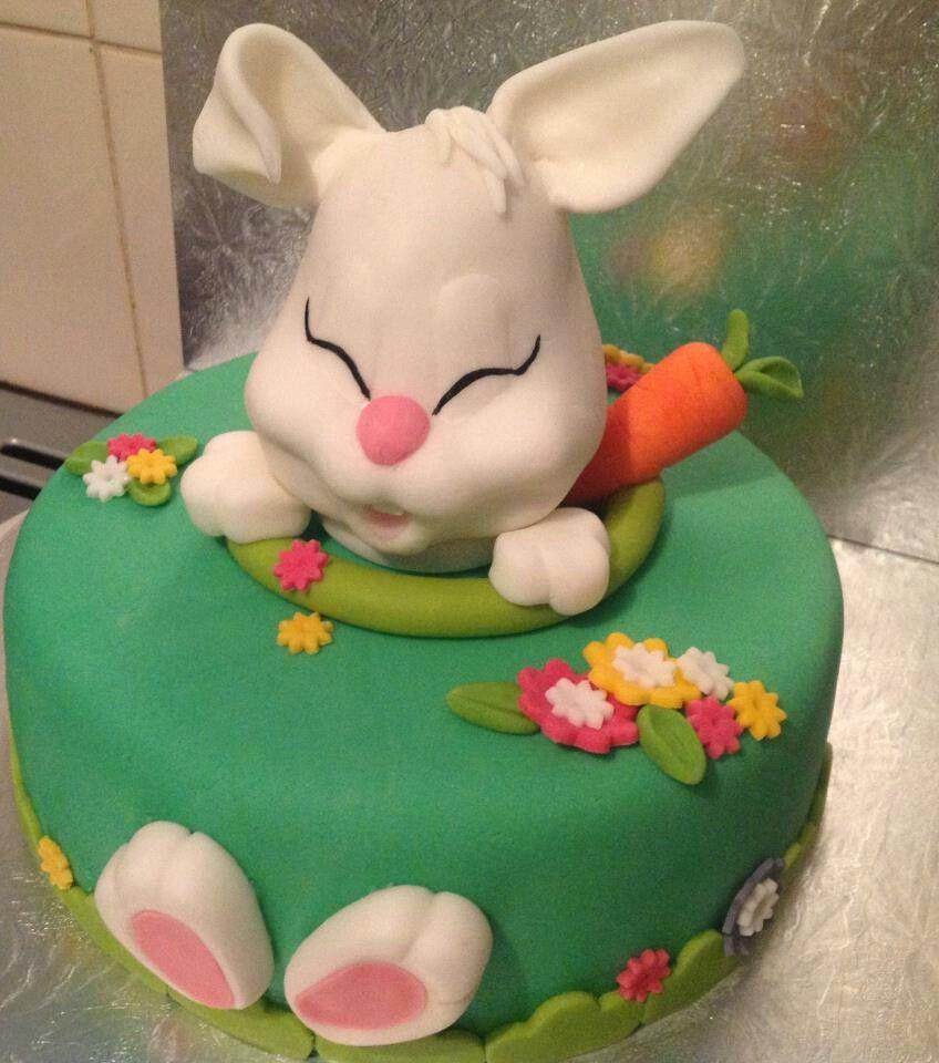 easter bunny cake blumen zum essen pinterest torten. Black Bedroom Furniture Sets. Home Design Ideas