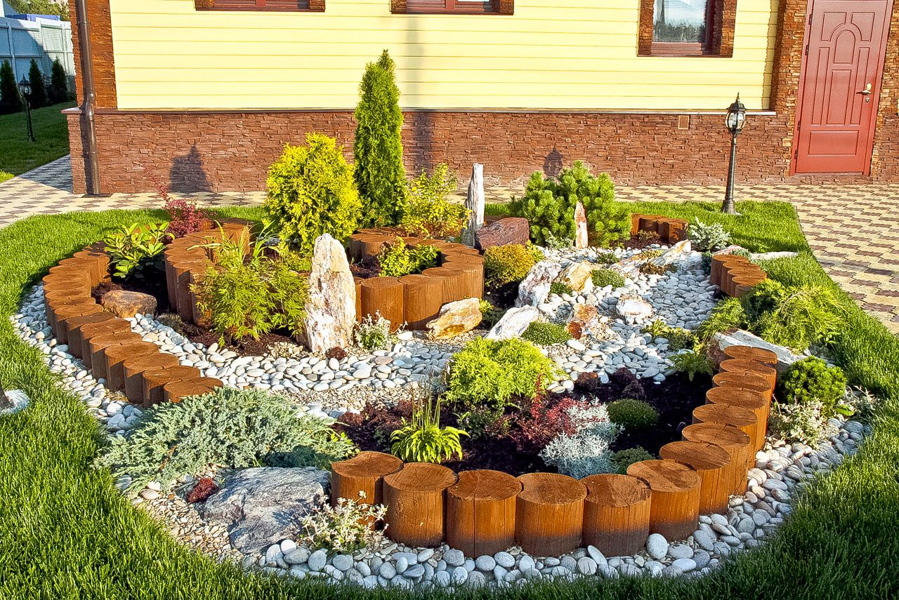 How to build a rockery step by step – building tips. Putting ...