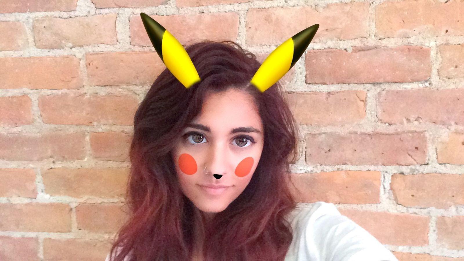 Snapchat adds a Pikachu filter for your kawaii pokémon