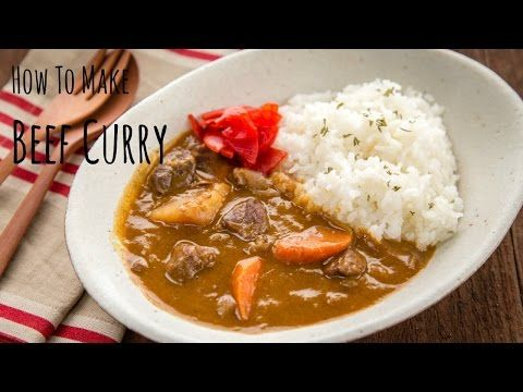 Enjoy Rich And Flavorful Japanese Curry Served With Chicken Katsu Or Tonkatsu Over Rice The Crunchy Texture With Cr Beef Curry Recipe Curry Recipes Beef Curry