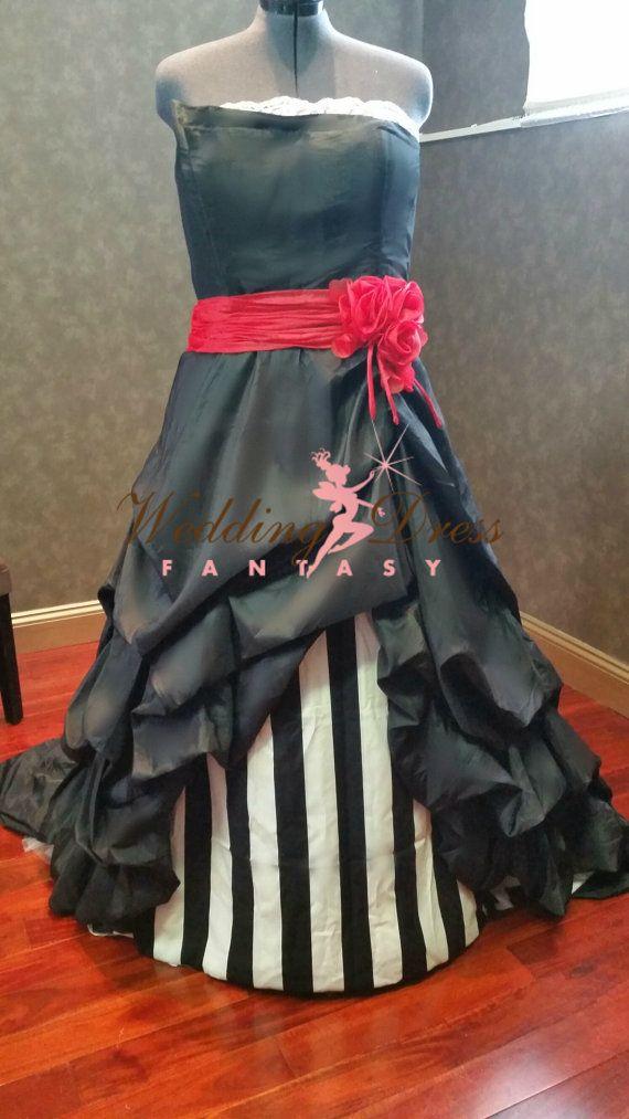 This fabulous Beetlejuice Wedding Dress is very unique. Fabrics ...