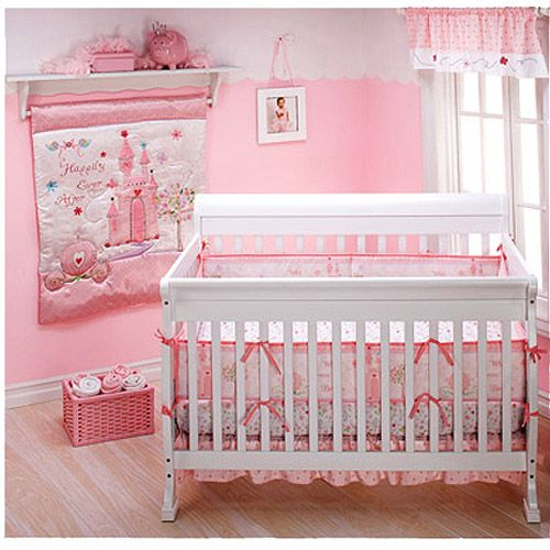 Disney - Princess Happily Ever After 4-Piece Crib Bedding ...