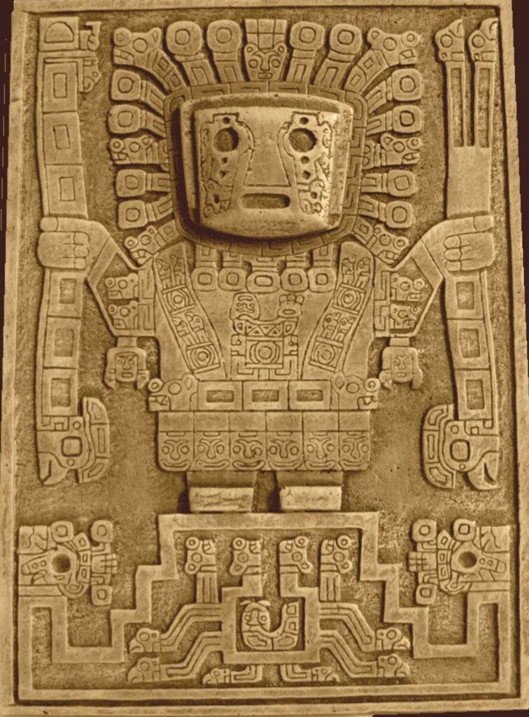 Pucar 225 Bulls And The Inca Inca Art South American Art