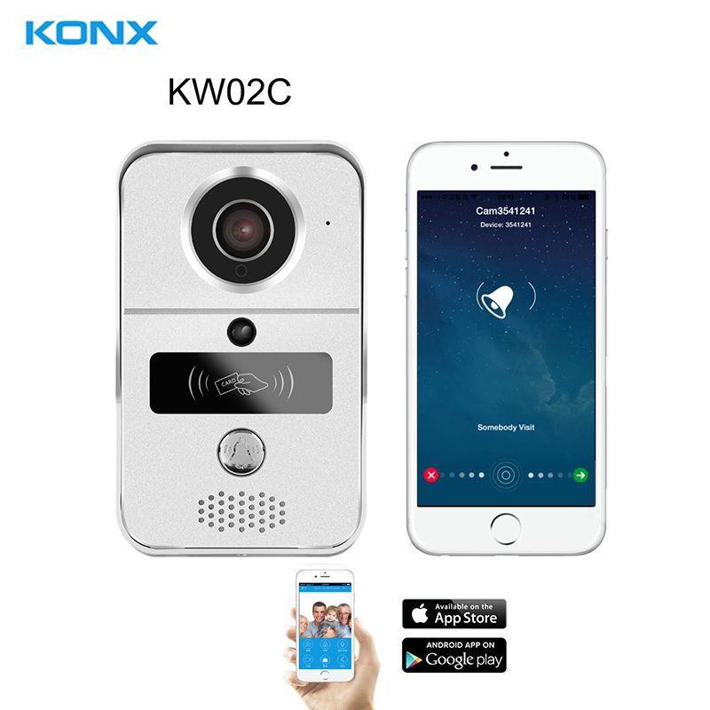 KONX KW02C 720 P H264 Smart WiFi Vidéo Porte Téléphone interphone