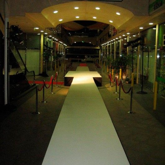 How To Build A Runway Stage - Red Carpet Systems. For more information about fashion show runway rental, go to http://www.redcarpetsystems.com/products-services/fashion-runway-rental/