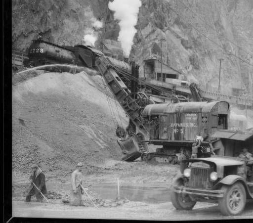 "Boulder Dam [Hoover Dam], Nevada, 1932 :: ""Dick"" Whittington Photography Collection, 1924-1987"
