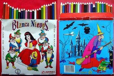 Mis lápices de colores Blanca Nieves... ☺️