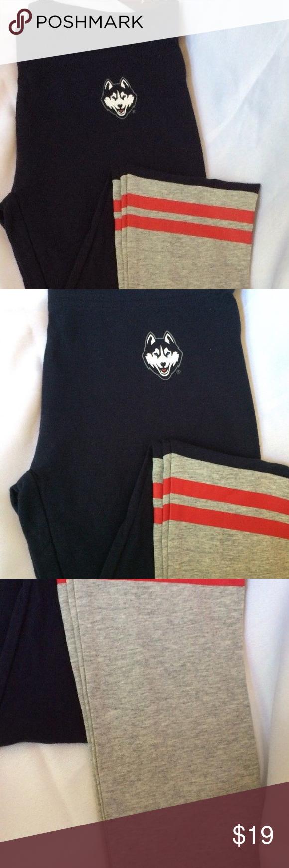 67d51a0338 UConn Huskies Yoga Pants Leggings Uconn Fan Gear! UConn Huskies Colosseum womens  Yoga pants leggings Sexy Soft Medium M Medium from Colosseum • Officially  ...