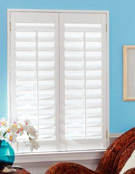 Amazing Poor Framing Makes These Shutters Look Cheap Wood Plantation Shutters    This Is Exactly What I Want In The Living Room U0026 Dining Room