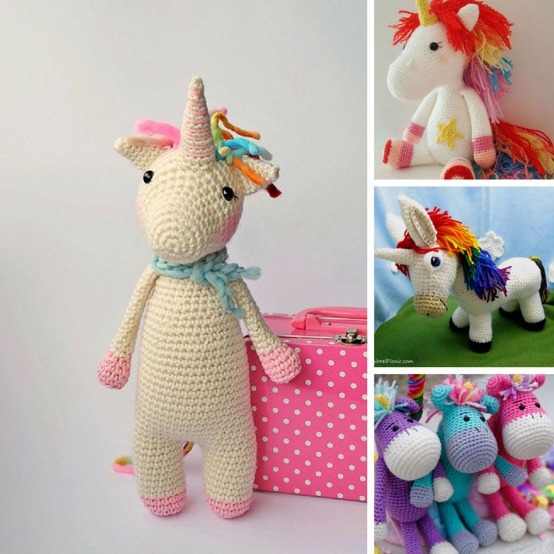 13 Mystical Unicorn Crochet Patterns to Make Your Inner Child Squeal ...