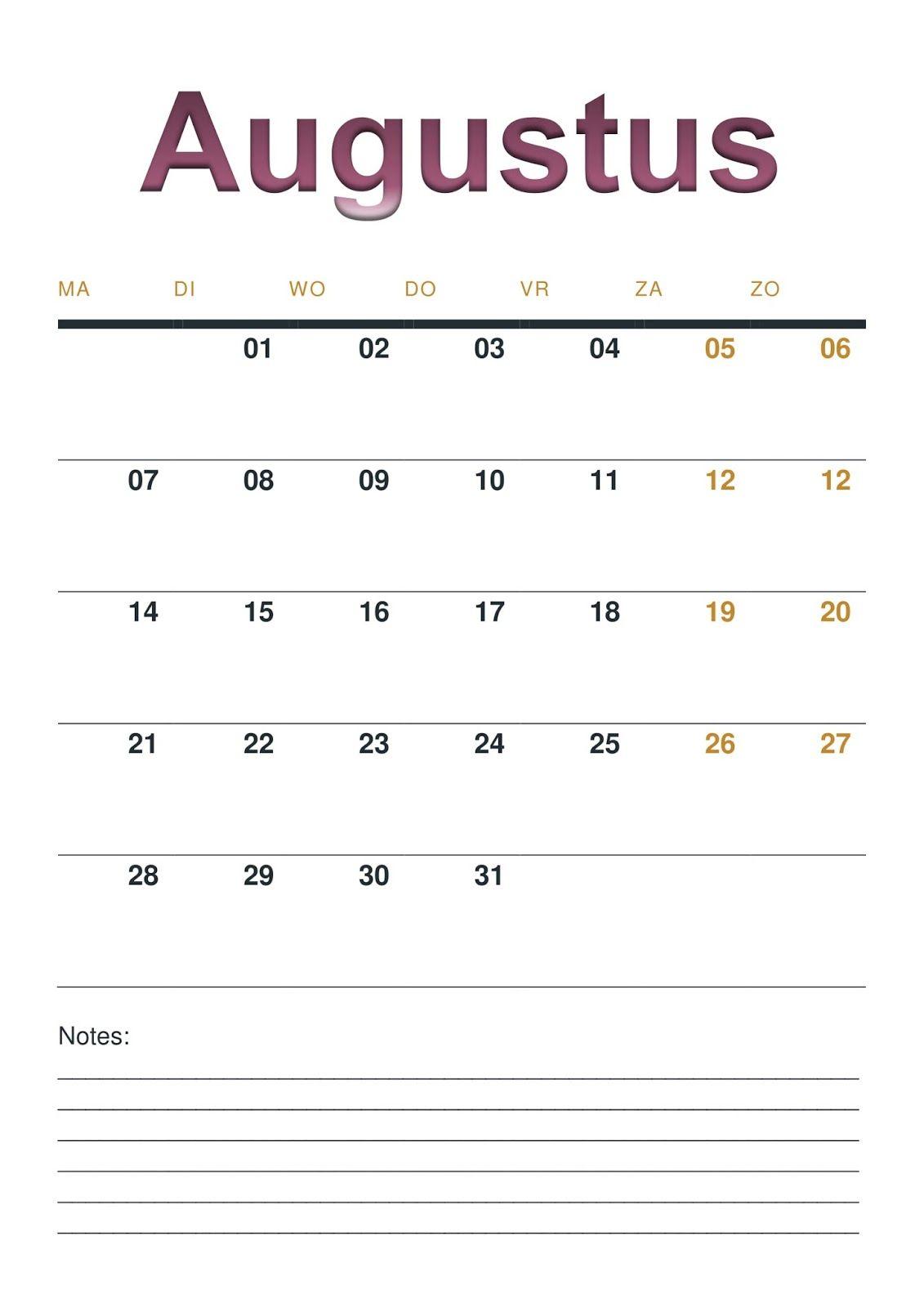 De Eerste Week Van 2017 Zit Er Alweer Bijna Op Om Dit Jaar Overzichtelijk Te Houden Hebben We Een Handige Maandkalender Ge Maandkalenders Eerste Week Handig