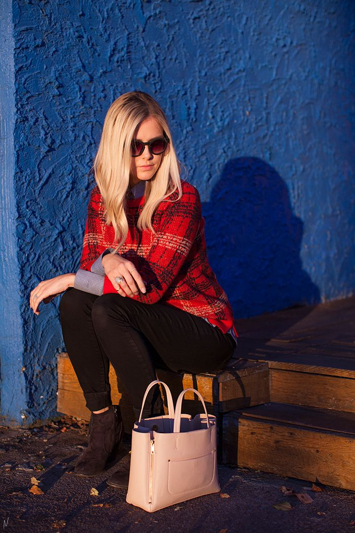 The Makerista: How to Modernize a Classic, Fall Outfit