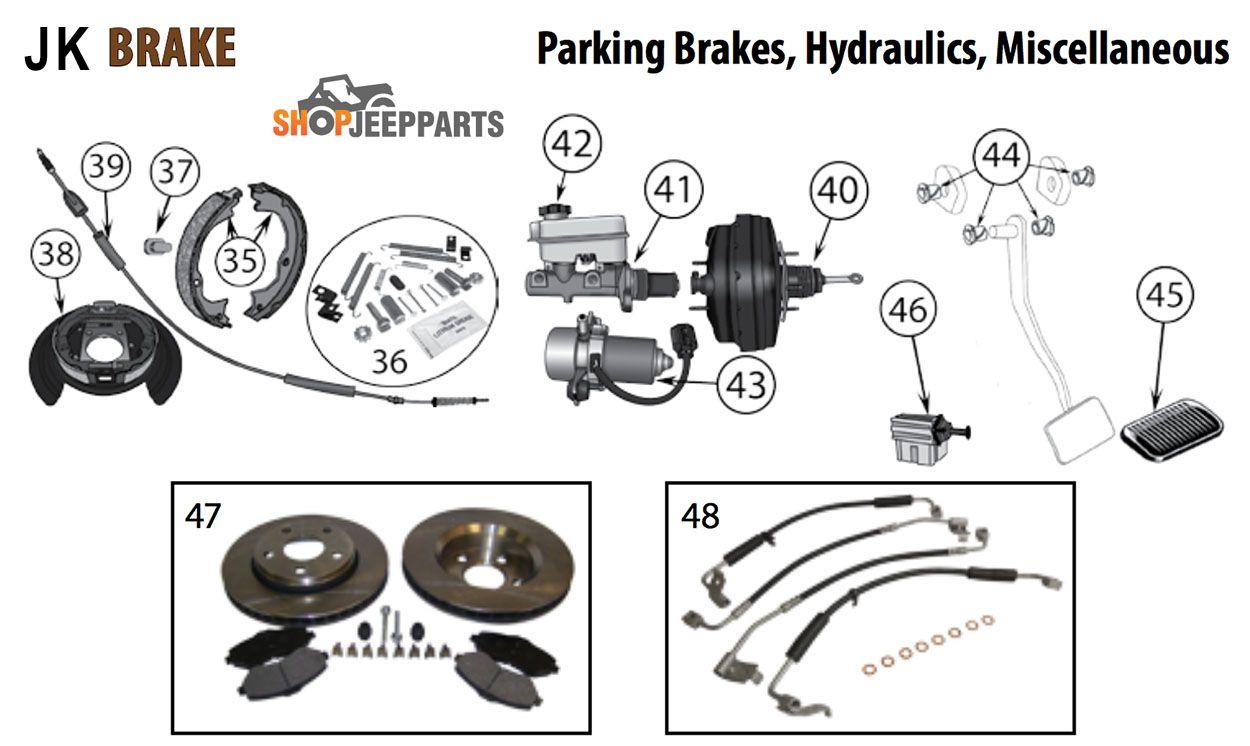 Jeep Jk Wrangler Parking Brake Diagram Jeep Jk Wrangler Jk