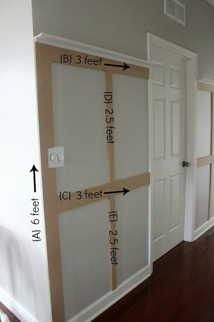 Diy Hallway Wall Decor : This entryway idea is low budget but it will make you