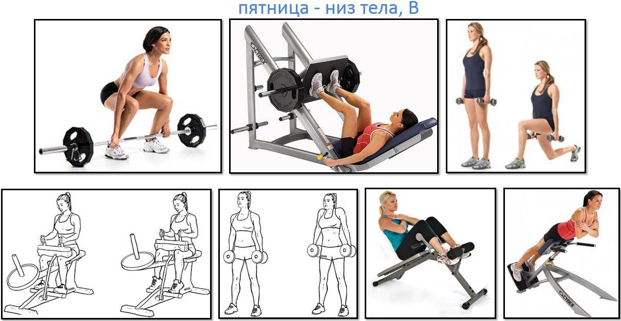 Упражнения В Тренажерном Зале Чтобы Сбросить Вес. Мужская программа тренировок для похудения в тренажерном зале
